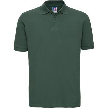 Textil Homem Polos mangas curta Russell 569M Garrafa Verde