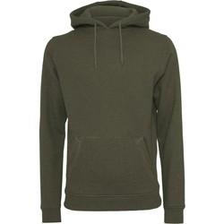 Textil Homem Sweats Build Your Brand BY011 Azeitona