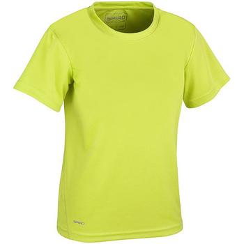 Textil Rapaz T-Shirt mangas curtas Spiro S253J Verde lima