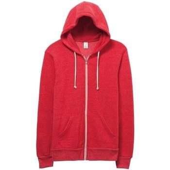 Textil Homem Sweats Alternative Apparel Alternative Eco Verdadeiro Vermelho
