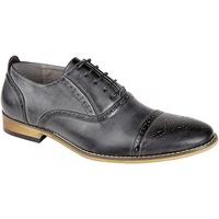 Sapatos Homem Richelieu Goor  Cinza