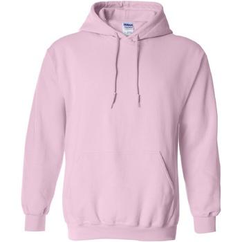 Textil Homem Sweats Gildan 18500 Rosa claro