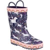 Sapatos Criança Botas de borracha Cotswold Sprinkle Unicórnio roxo