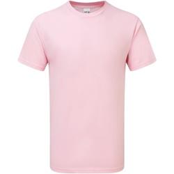 Textil Homem T-Shirt mangas curtas Gildan H000 Rosa claro