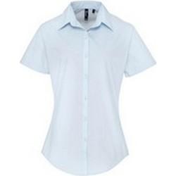 Textil Mulher camisas Premier PR309 Azul claro