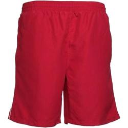 Textil Homem Shorts / Bermudas Gamegear KK980 Vermelho/branco