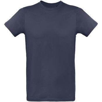 Textil Homem T-Shirt mangas curtas B And C TM048 Marinha Urbana