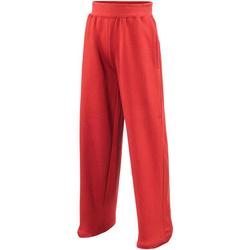 Textil Criança Calças de treino Awdis  Vermelho Fogo