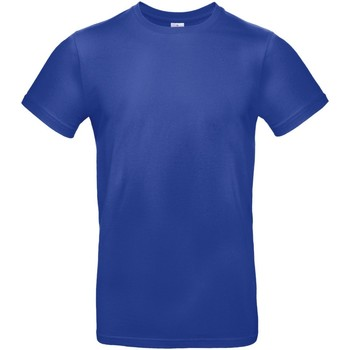 Textil Homem T-Shirt mangas curtas B And C TU03T Cobalto Azul