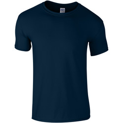 Textil Criança T-Shirt mangas curtas Gildan 64000B Marinha