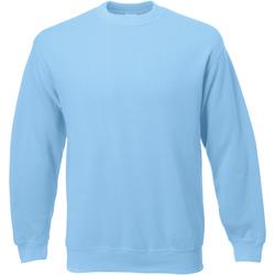 Textil Homem Sweats Universal Textiles 62202 Azul claro