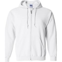 Textil Homem Sweats Gildan 18600 Branco