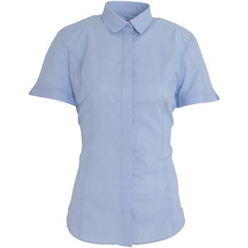 Textil Mulher camisas Brook Taverner BK133 Azul Céu