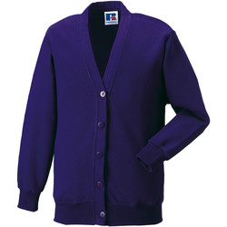 Textil Criança Casacos de malha Jerzees Schoolgear 273B Púrpura