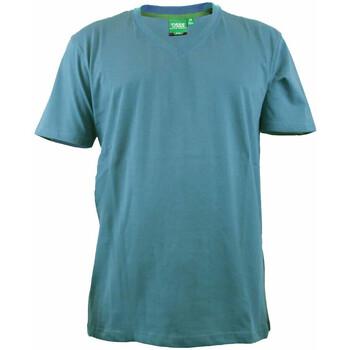 Textil Homem T-Shirt mangas curtas Duke Signature-2 Teal