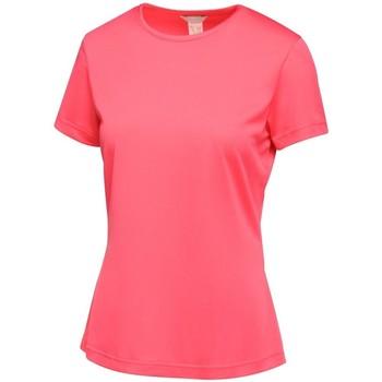 Textil Mulher T-Shirt mangas curtas Regatta TRS188 Rosa Quente