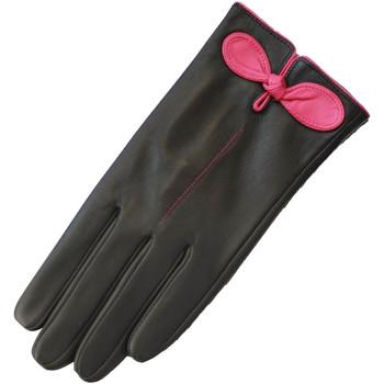 Acessórios Mulher Luvas Eastern Counties Leather  Negro/Fúcsia
