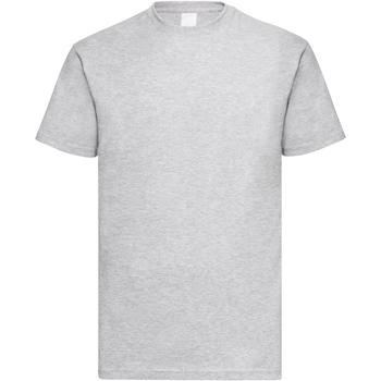 Textil Homem T-Shirt mangas curtas Universal Textiles 61036 Grey Marl