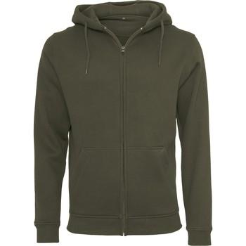Textil Homem Sweats Build Your Brand BY012 Azeitona