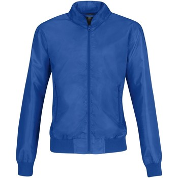 Textil Mulher Jaquetas B And C B658F Royal Blue/ Neon Orange