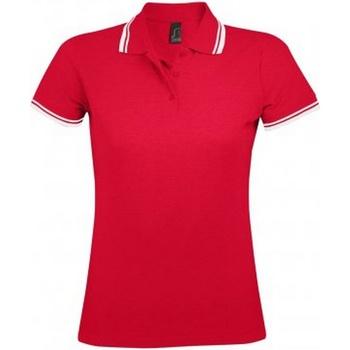 Textil Mulher Polos mangas curta Sols 10578 Vermelho/branco