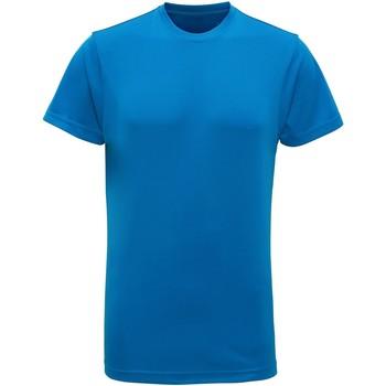 Textil Homem T-Shirt mangas curtas Tridri TR010 Safira