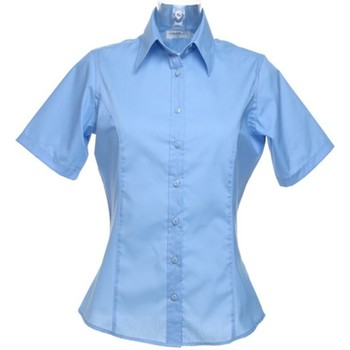 Textil Mulher camisas Kustom Kit K742F Azul claro