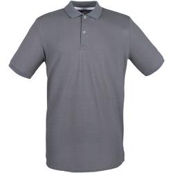 Textil Homem Polos mangas curta Henbury HB101 Cinza de aço