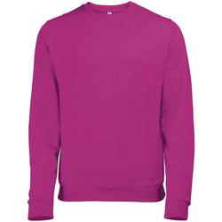 Textil Homem Sweats Awdis JH040 Pink Heather