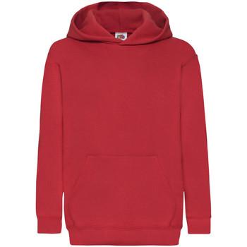 Textil Criança Sweats Fruit Of The Loom 62043 Vermelho