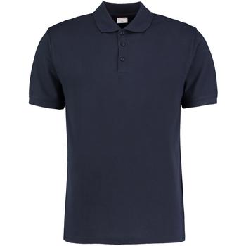 Textil Homem Polos mangas curta Kustom Kit KK413 Azul-marinho