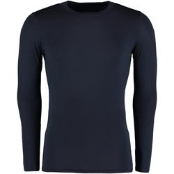 Textil Homem T-shirt mangas compridas Gamegear Warmtex Azul-marinho