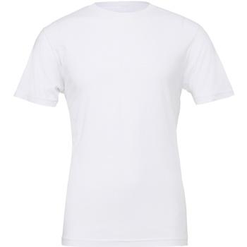 Textil T-Shirt mangas curtas Bella + Canvas CV001 Branco