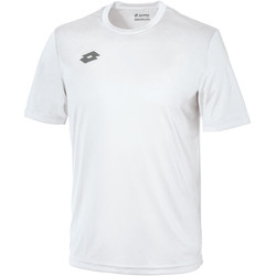 Textil Criança T-Shirt mangas curtas Lotto LT26B Branco/prata