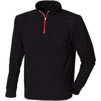 Textil Homem Casaco polar Finden & Hales LV570 Preto/Vermelho