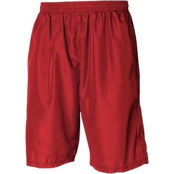 Textil Homem Shorts / Bermudas Tombo Teamsport Longline Vermelho / Vermelho