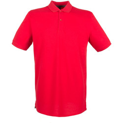 Textil Homem Polos mangas curta Henbury HB101 Vermelho clássico