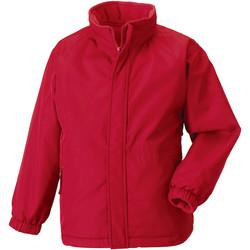 Textil Criança Jaquetas Jerzees Schoolgear 875B Vermelho clássico