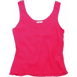 Textil Mulher Tops sem mangas Brave Soul BS163 Bubblegum Pink