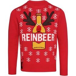 Textil Homem camisolas Christmas Shop CJ003 Vermelho