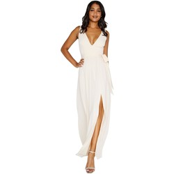 Textil Mulher Vestidos compridos Little Mistress Plunge Nua