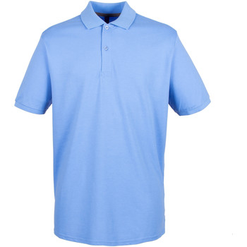 Textil Homem Polos mangas curta Henbury HB101 Azul Médio