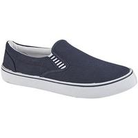 Sapatos Rapaz Slip on Dek  Azul-marinho