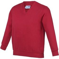Textil Criança Sweats Awdis  Vermelho
