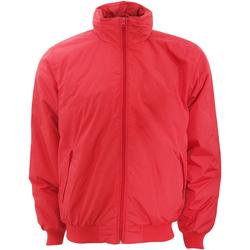 Textil Homem Jaquetas B And C JM961 Vermelho/Cinza quente