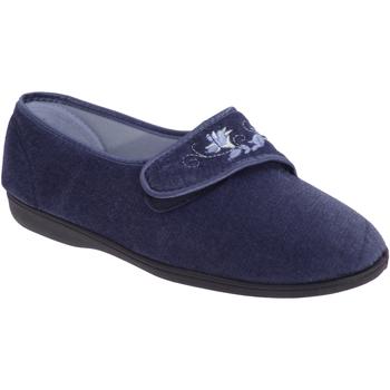 Sapatos Mulher Chinelos Sleepers  Azul-marinho