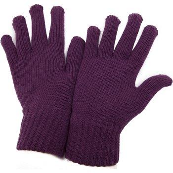 Acessórios Mulher Luvas Universal Textiles  Borgonha
