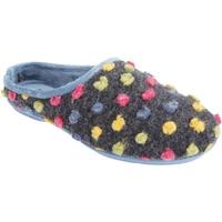 Sapatos Mulher Chinelos Sleepers  Azul/Multi