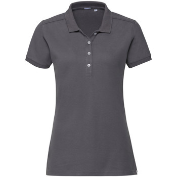 Textil Mulher Polos mangas curta Russell 566F Cinza do comboio