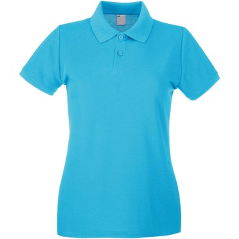 Textil Mulher Polos mangas curta Universal Textiles 63030 Ciano